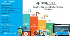 Expanding your business from #online #web #portal added extra advantage for #customers or users in new #digital #environment. Create attractive and eye-catching #web #presence for your business by hiring best #website #design & #development #company Dignitech Media Works in India and USA.