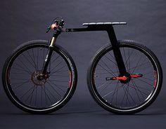 Monociclo com duas rodas