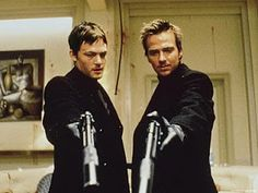 Norman Reedus and Sean Patrick Flanery... with guns ;)