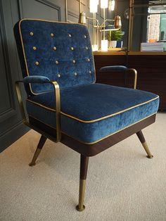 Bert Frank furniture collection at Decorex century armchair-bespoke furniture made by Decca London