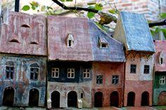 Ceramic Houses - Andrei Pandea Ceramics Ceramic Houses, Outdoor Decor, Home Decor, Decoration Home, Room Decor, Home Interior Design, Home Decoration, Interior Design