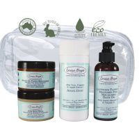 Larissa Bright Baby Archangel Baby Care Kit $75.16 www.mamadoo.com.au #mamadoo #skincare #winterskincare #larissabrightbaby