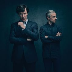 The boys will be back soon! Here's the first official picture of Sherlock and John from Season 4