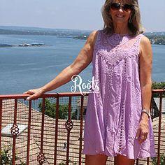 Love + Lace in Lavender Dress #RootsSouthernBoutique