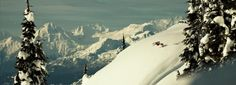 ski website w/cool graphics and photos