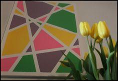 petite femme jolie: DIY: Geometric Art