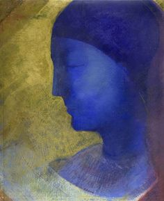 Odilon Redon - La Cellule d'Or