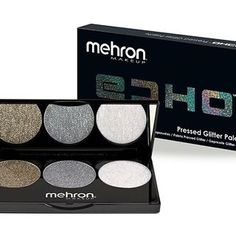 Say HELLO to ECHO. This uniquely formulated Pressed Glitter Palette lets you effortlessly add glitter to face and body - with ZERO fallout. No mixing medium or adhesive required! Just swipe on as you would any eye shadow or blush. It's that simple.  Read our blog for more details  #ECHOGlitter #echo #pressedglitter #mehronbeauty #mehronoerformance #mehronmakeup #mehron