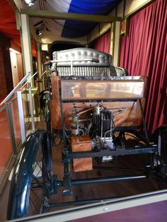 Research into cars at the Transport Museum Hull.