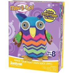 Sewing Sock Animal Kit for kids by craftitinc on Etsy
