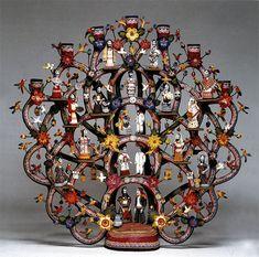 Mexican Folk Art - Arbol de la vida