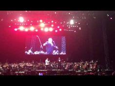 """Plácido Domingo, emocionó al público con la una melodía de antaño """"Bésam..."""
