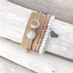Luxus Cuoio Armbänder & Dreamz Armbänder mit Polaris Cabochon
