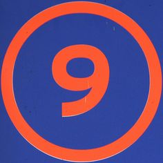 9 by Leo Reynolds, via Flickr Magic Number, Number 9, Typography Art, Chicago Cubs Logo, Graphic Prints, Muse, Leo, You Got This, Count