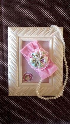 Faixinha Baby feita com meia de seda, flor feita artesanalmente ...  Não aperta e nem machuca a cabecinha de sua princesinha