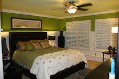 BEADBOARD LARSONS bedroom master | Wainscoting and Beadboard traditional-bedroom