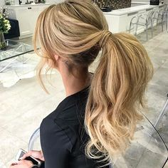 Pony goals using @natalieannehaircare Hair by • @natalieannehair