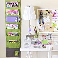Cute room organization for teens desk areas Ideas Teen Closet Organization, Home Organization Hacks, Organizing Your Home, Organizing Tips, Homework Organization, Interior Room, Teen Desk, Kid Closet, Closet Ideas