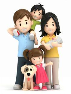 25 3D Pics. Happy Family | Amazing Photos