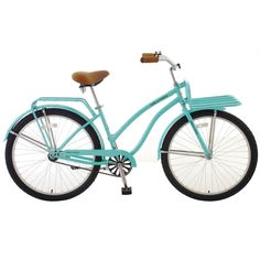 Sign us up for a warm summer day spent cruising around town on this Hollandia Holiday bike!