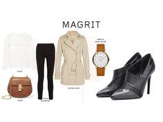 #Magrit & #Shopping   #Trendalert  Outfits para afrontar el invierno con colores claros y camel.  Nosotros los combinamos con un pantalón pitillo y nuestro modelo LEAN. Encajará con todos tus looks!   #Chloé#StellaMcCartney#MichaelKors#MarcbyMarcJacobs  LINK WEB: http://www.magrit.es/es-ES/lean-negro-439