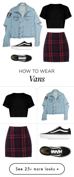 """Untitled #748"" by iiscool on Polyvore featuring Oasis and Vans"