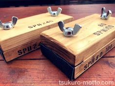 Wood Tools, Diy Tools, Woodworking Workshop, Woodworking Tips, Hobbies And Crafts, Diy And Crafts, Tool Shop, Sanding Block, Photography Tools