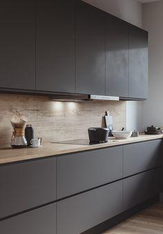 KS Kitchen on Behance KS Kitchen on Behance – Minimalist 2020 Kitchen Room Design, Modern Kitchen Design, Home Decor Kitchen, Interior Design Kitchen, Kitchen Furniture, New Kitchen, Kitchen Dining, Kitchen Layout, Kitchen Ideas