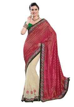 Viscose and Royal Net Designer Saree 5850/-