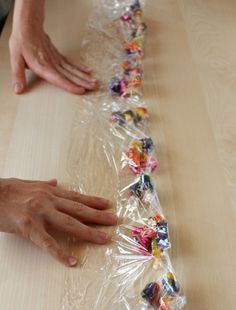 Candy Leis * seems like the easiest way