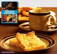 """A cake square recipe found in """"Den Store Bakeboken""""(The Big Baking Book) published by Schibstedt in 1978Tasty neat little goodies for afternoon tea or the after dinner coffee.Will make about 45 squ…"""
