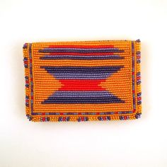 vintage seed bead southwestern wallet $24 purevintageclothing.etsy