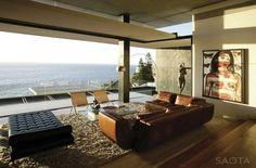 Calme et luxe en Afrique du Sud - Les plus beaux salons design à copier - CôtéMaison.fr