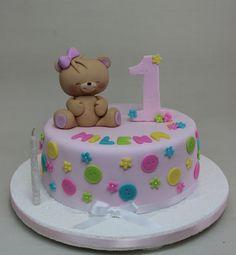 Teddy Bear Cake by Violeta Glace