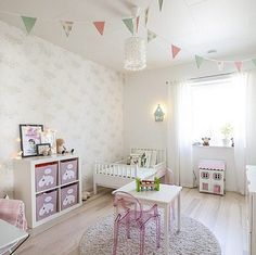 We present you the latest trend in Kids decor and the trendy ideas to nursery and bedrooms for boys and girls Baby Bedroom, Girls Bedroom, Ideas Habitaciones, Deco Kids, Kids Room Design, Little Girl Rooms, Kid Spaces, Kids Decor, Room Inspiration