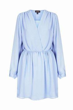 Wimbledon chic: Make like Kate Middleton in a cool wrap dress.