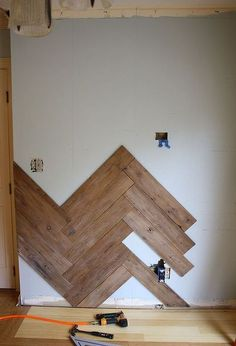 stunning herringbone plank wall upcycled from an old ugly fence, carpentry woodworking, design d cor, repurposing upcycling, walls ceilings Home Renovation, Home Remodeling, Pallet Walls, Pallet Wall Bedroom, Pallet Accent Wall, Diy Pallet Wall, Pallet Boards, Diy Casa, Plank Walls