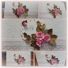 Tarjetas artesanales invitaciones de matrimonio