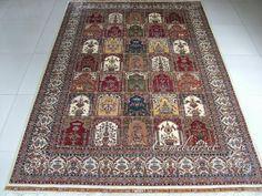 6X9 foot ,  silk carpet, 100% handmade  coco@camelcarpet.com whatsapp:008613213228709