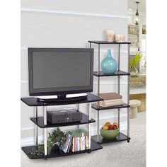 """Design2Go Entertainment Center, for TVs up to 32"""", Black $72 for Middle Piece"""