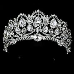 Wholesale Hair Clips & Barrettes - Buy 2014 New Fashion Queen Big Large Rhinestone Wedding Prom Party Pageant Crown Tiara For Sale, $46.29 | DHgate