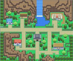 Image result for pokemon town gameboy