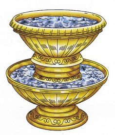 The laver of bronze, a large basin, was where priests washed before serving in the tabernacle. Here is the laver's prophetic bond to Jesus Christ.