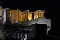 Athens Parthenon by ThaliaPlat