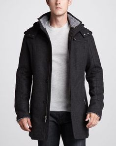 Montague Shearling-Trim Jacket by UGG Australia