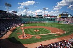 Fenway Park, home of the Boston Red Sox, is the oldest original Major League Baseball Park still in use. Fenway Park, The Places Youll Go, Places To See, Kansas, Baseball Park, Clemson Baseball, Baseball Playoffs, Baseball Season, Dios
