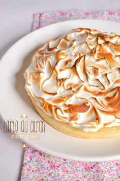 Je dis M. Food & Blog Lifestyle: Tarte au citron meringuée