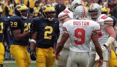 Good luck with that . Michigan Wolverines Football, Buckeyes Football, College Football Players, Football Helmets, Ms Marvel Captain Marvel, Marvel Comics, Charles Woodson, Michigan Go Blue, Ohio State University
