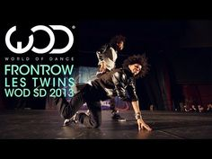LOVE the Les Twins, so good. ▶ Les Twins | World of Dance | FRONTROW | #WODSD 2013 - YouTube
