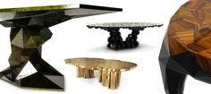 Mesas modernas para a decoração de natal |